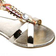 Women's Crystal Embellished Sandals - Paradise Daze