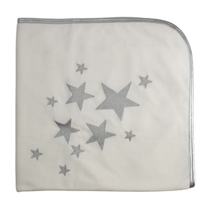White My Shining Star Blanket