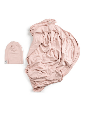 Blush and Blanket Set