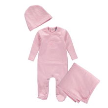 Pink Heart Layette Set