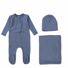 Ocean Navy Modal Layette Set