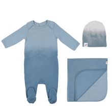 Into the Blue Layette Set