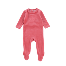 Rose Pink Bebe Footie