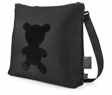 Booba Black Diaper Bag