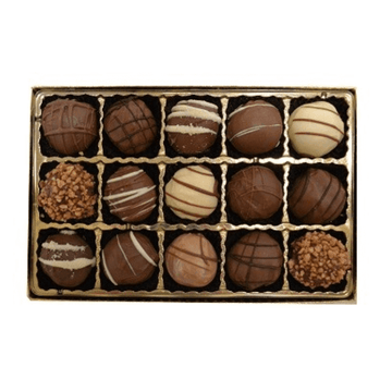 15 Pc Chocolate Truffle Box