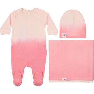 Into the Pink Layette Set