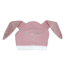 Pink Baby Bunny Hooded Towel