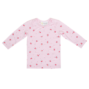Long Sleeve Top Pink Floral
