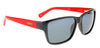 Black and Red, Henshaw III Sunglasses, Henshaw Polarised Sunglasses