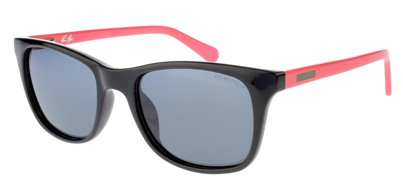 Black and Pink, Henshaw IV Sunglasses, Henshaw Polarized Sunglasses