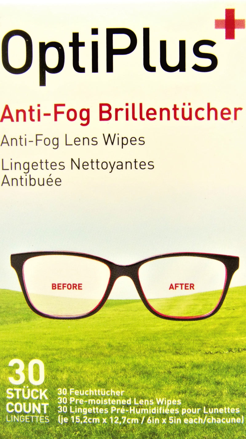 Anti Fog Wipes X6