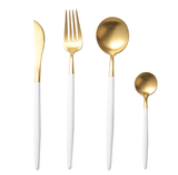 Cupofdeals cutlery Gold Fashion Forward Cutlery Set