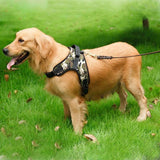 Cupofdeals dog gadget Camouflage / S Adjustable Reflective No-Pull Dog Harness for Small to Large Dog
