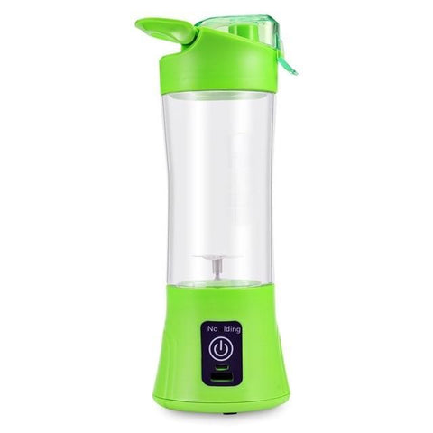 Cupofdeals kitchen gadget Green Rechargeable Portable Blender