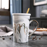 Cupofdeals mug 2 Couple's Marble Pattern Mugs