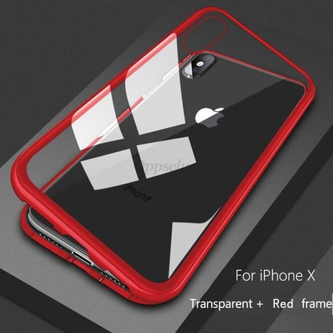 Cupofdeals Red / iPhone 7 Plus Maximum Absorption Magnetic Phone Case for iPhone