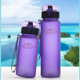 Cupofdeals water bottle 400ml / Blue Hiking Leak Proof Bottle(400ml )
