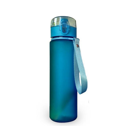 Cupofdeals water bottle 560ml / Blue Hiking Leak Proof Bottle(560ml)
