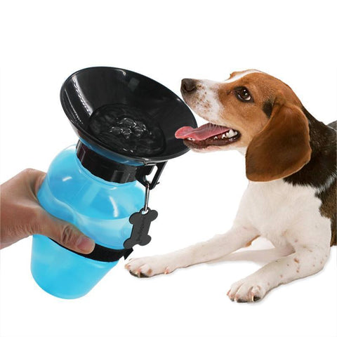 Cupofdeals water bottle Blue / 21.5x10.7x10.7cm Pup Drinking Water Bottle