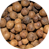 close up photo of all spice