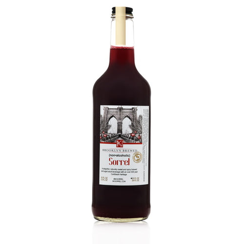 Premade alcohol free drinks. Made of spiced hibiscus roselle. Buy non alcoholic sorrel mocktail drinks online.