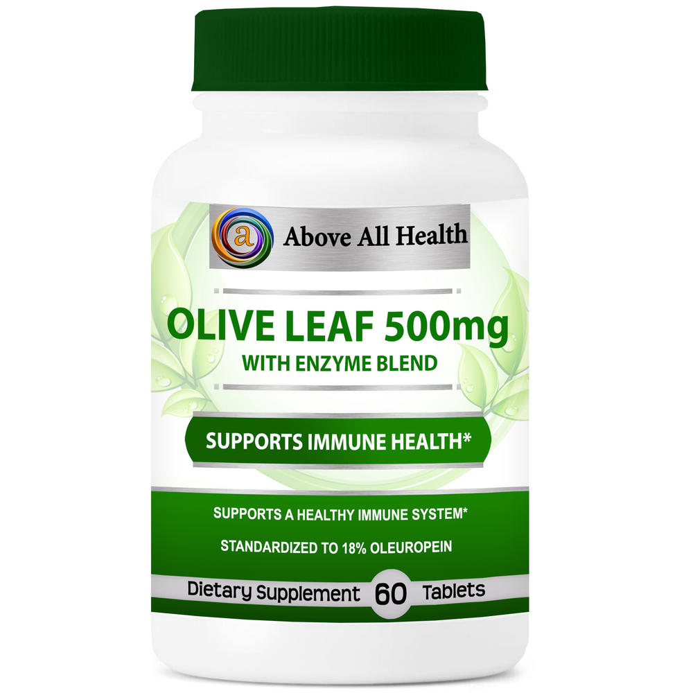 Olive Leaf 500mg 60 Tablets