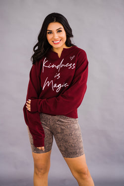 Kindness is Magic pullover