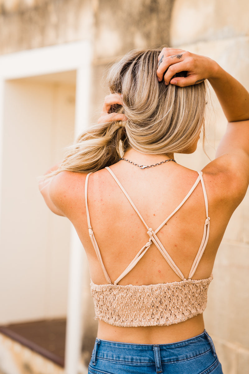 The Jocelyn Bralette - Nude