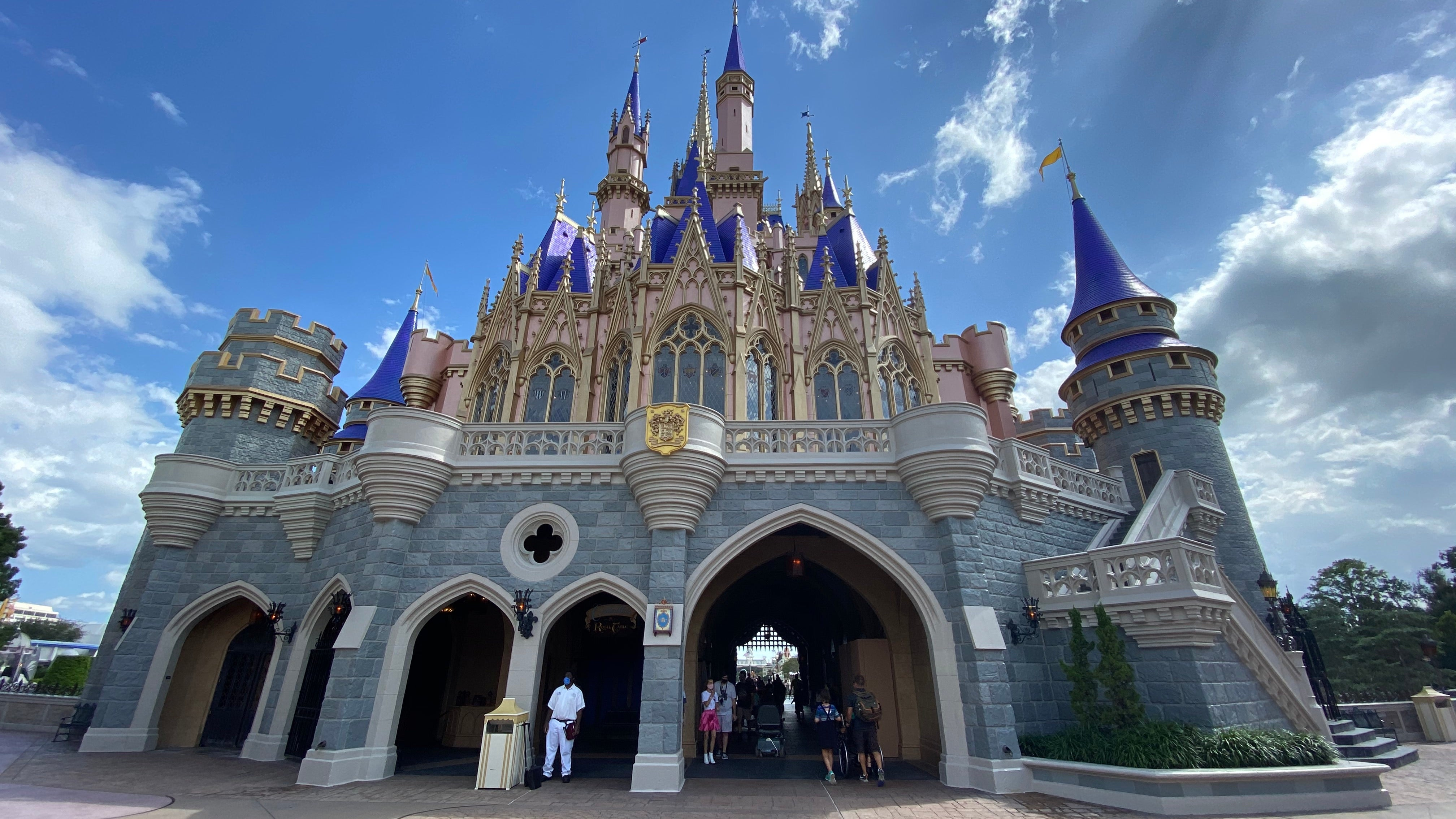 Magic Kingdom during Covid 2020