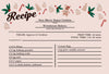 Very Merry Sugar Cookie Recipe Card