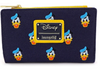 Donald Duck Embroidered Canvas Zip Wallet Disney Loungefly