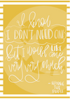 Winnie The Pooh Quote (Instant Digital Download)