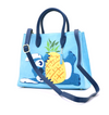 Stitch Chenille Tote / Crossbody - Disney Loungefly