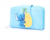 Stitch Chenille Snap Wallet - Disney Loungefly