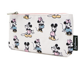 Pastel Minnie Mickey Nylon Pouch