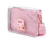 Barbie Rose Gold Pouch and Clear Crossbody Loungefly