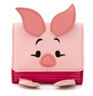 Winnie The Pooh Piglet Flap Wallet - Loungefly