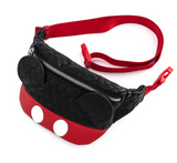 Mickey Mouse Quilted Fanny Pack - Disney Loungefly