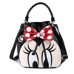 Minnie Mouse Bow Bucket Bag - Disney Loungefly