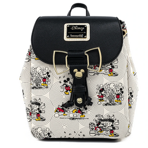 Mickey & Minnie Bow Hardware Backpack - Disney Loungefly