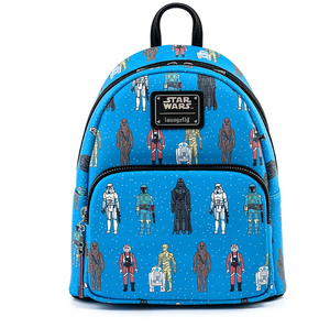 Star Wars Action Figures Mini Backpack - Loungefly