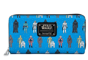 Star Wars Action Figure Wallet - Loungefly