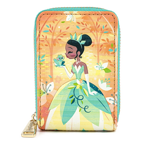 Princess and the Frog Tiana Accordion Wallet - Disney Loungefly