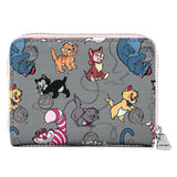 Disney Cats Zip Around Wallet - Disney Loungefly