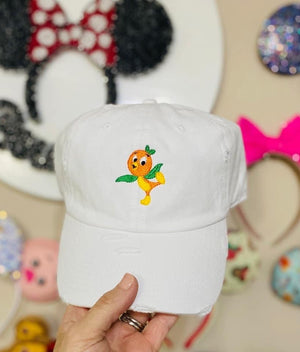 Orange Bird Hat PONYTAIL