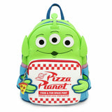 Toy Story Alien Pizza Box Mini Backpack - Disney Loungefly