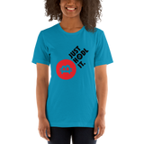 "Womens T-Shirt ""Hust HODL it"""