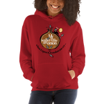 "Womens Hoodie ""My Wallet Is Like An Onion"""