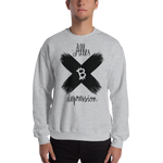 "Mens Sweatshirt ""Alles Depression"""
