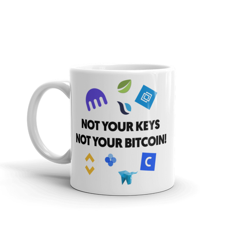"Coffe Mug ""Not Your Keys"""
